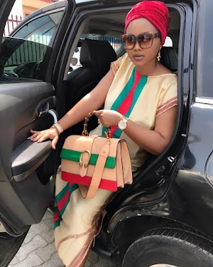 UK based Fan slams Mercy Aigbe & her 'fake' Gucci bag- See Screenshot