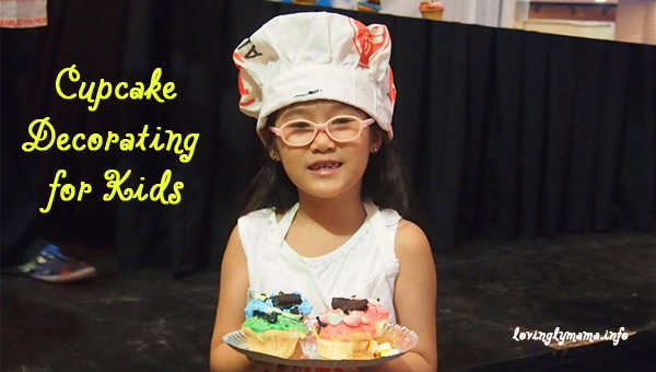 cupcake decorating for kids - World Bread Day - BACNOBA - The District North Point