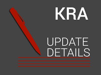 kra update details