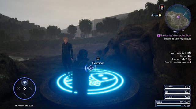 final fantasy XV event Terra screen 1