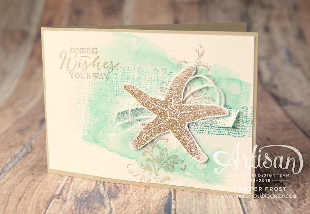 #TGIFc64 Summer, Picture Perfect, Timeless Textures, Papercraft by Jennifer Frost, Stampin' Up!