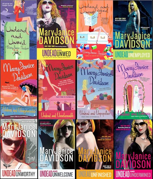 MaryJanice Davidson - Undead and Unstable Excerpt & Giveaway - June 16, 2012