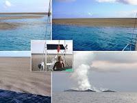 Luar Biasa, Pelaut Ini Saksikan Kelahiran Sebuah Pulau