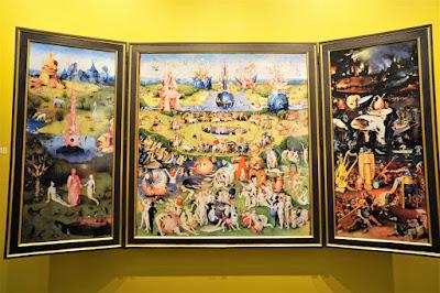 ヒエロニムス・ボス、快楽の園 本物はプラド美術館