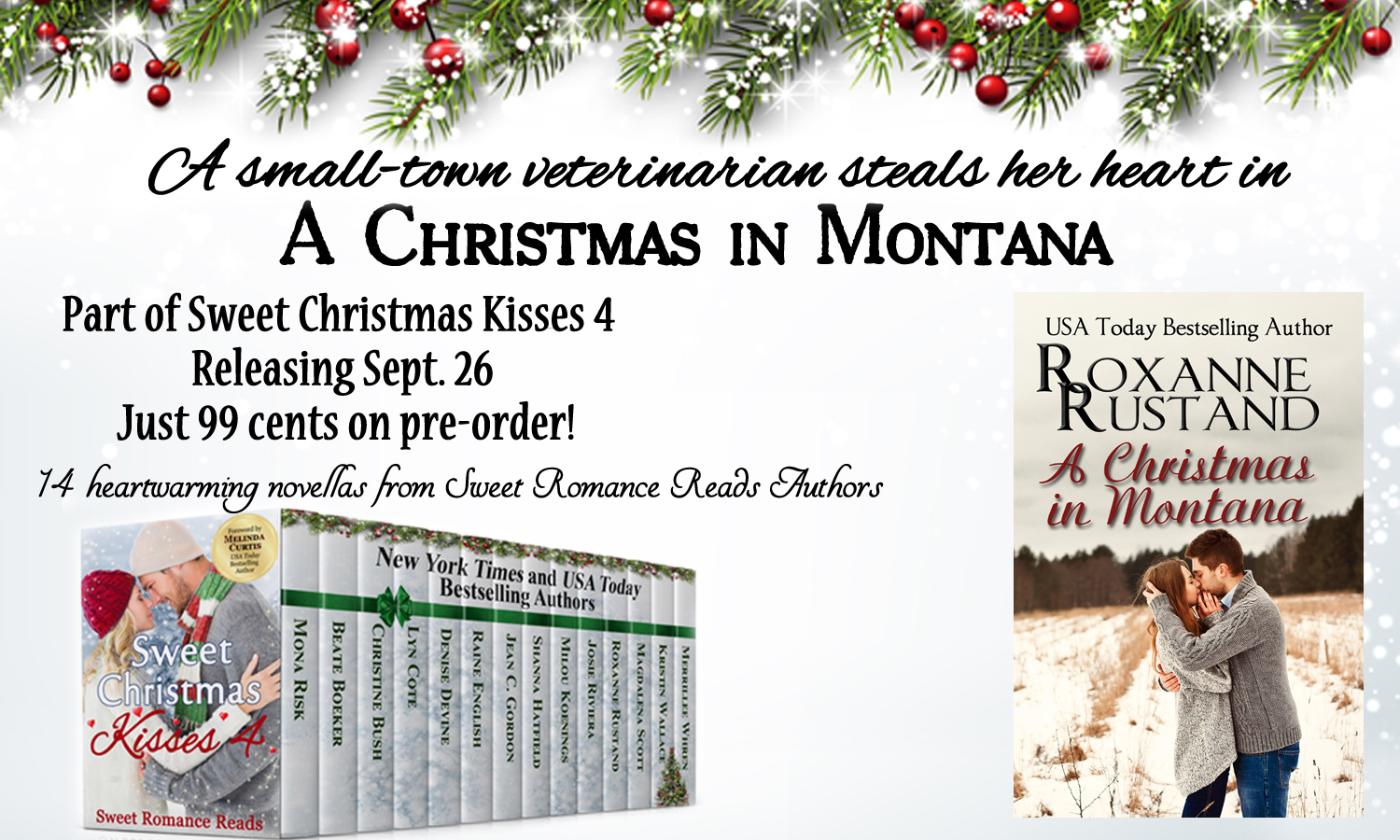 Sweet Romance Reads: Meet the Authors of Sweet Christmas Kisses 4 ...