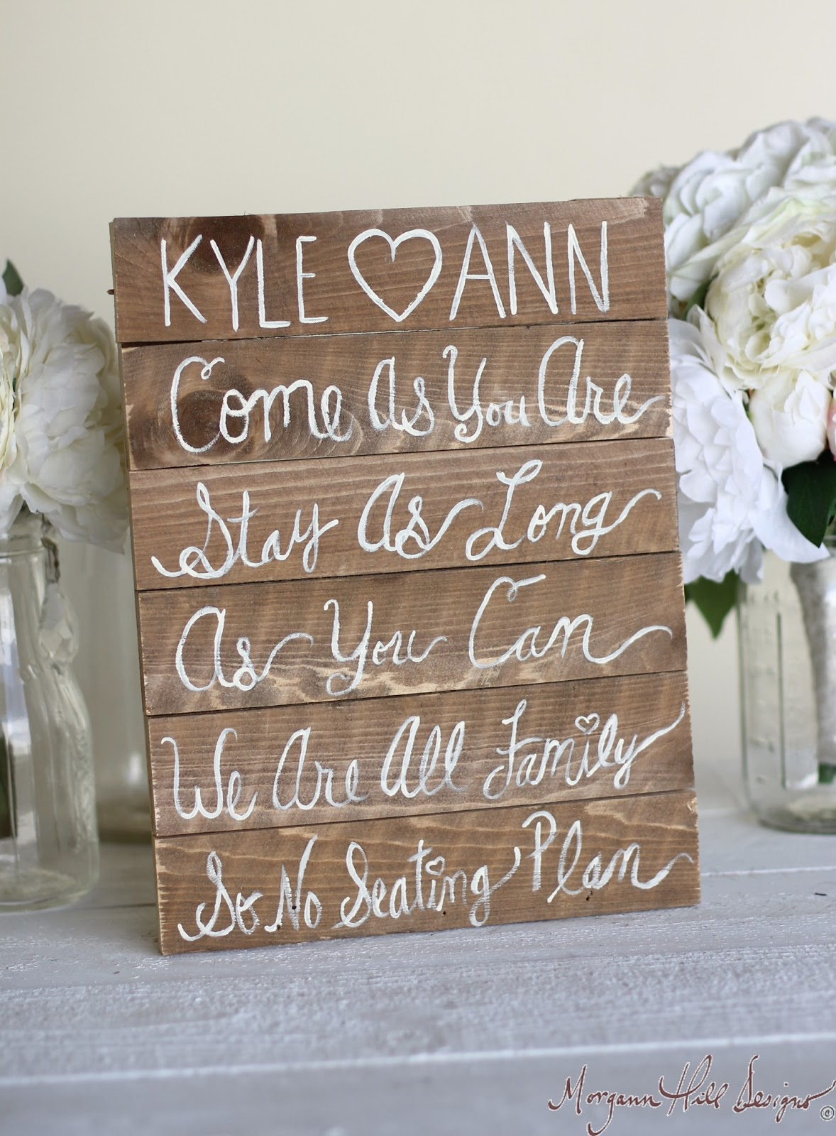 Seating Chart Rustic personalized Wedding sign Sign  Morgann Designs: rustic Hill Personalized