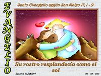 Resultado de imagen para En aquel tiempo, Jesús tomó consigo a Pedro, a Santiago y a su hermano Juan