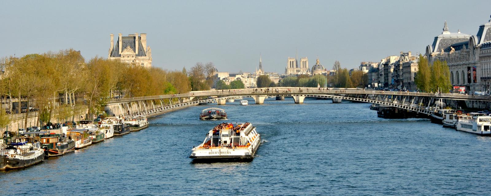 Circuit Restaurant Seine Paris