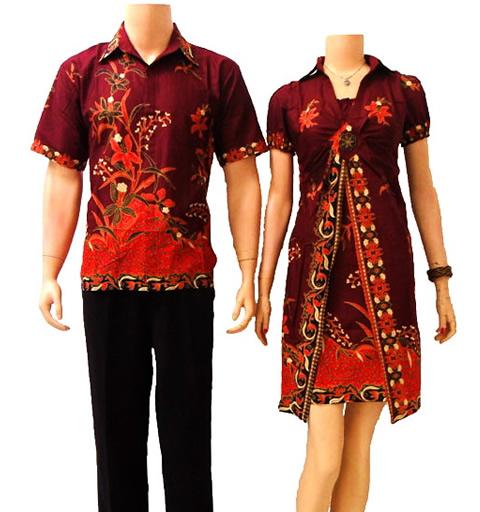 Baju Batik Kerja Sederhana: Macam-macam Batik Indonesia Dan Contoh Bajunya