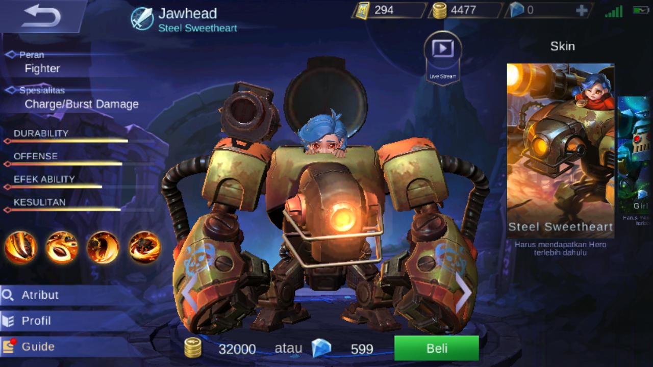 5500 Koleksi Gambar Mobile Legend Jawhead Gratis Terbaik