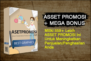 Asset Promosi Template Graphic