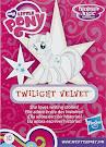 My Little Pony Wave 16 Twilight Velvet Blind Bag Card