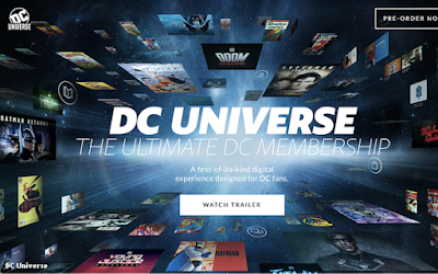 DC Universe Streaming Site Batman Day Launch