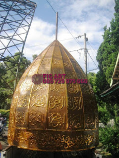 Kubah Masjid Tembaga Kuningan