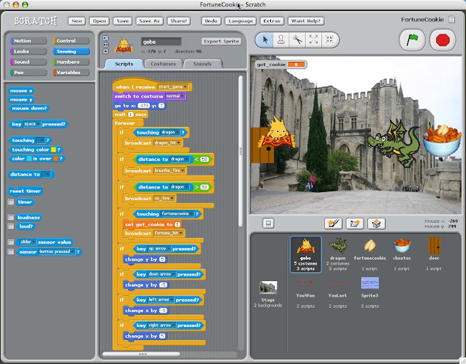 Scratch 2 - Μία γλώσσα προγραμματισμού για μικρούς αλλά και για μεγάλους