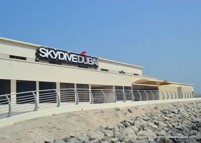 Skydive Dubai Palm Drop Zone