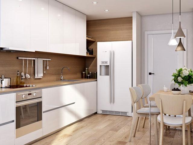 phòng bếp cho nhà nhỏ