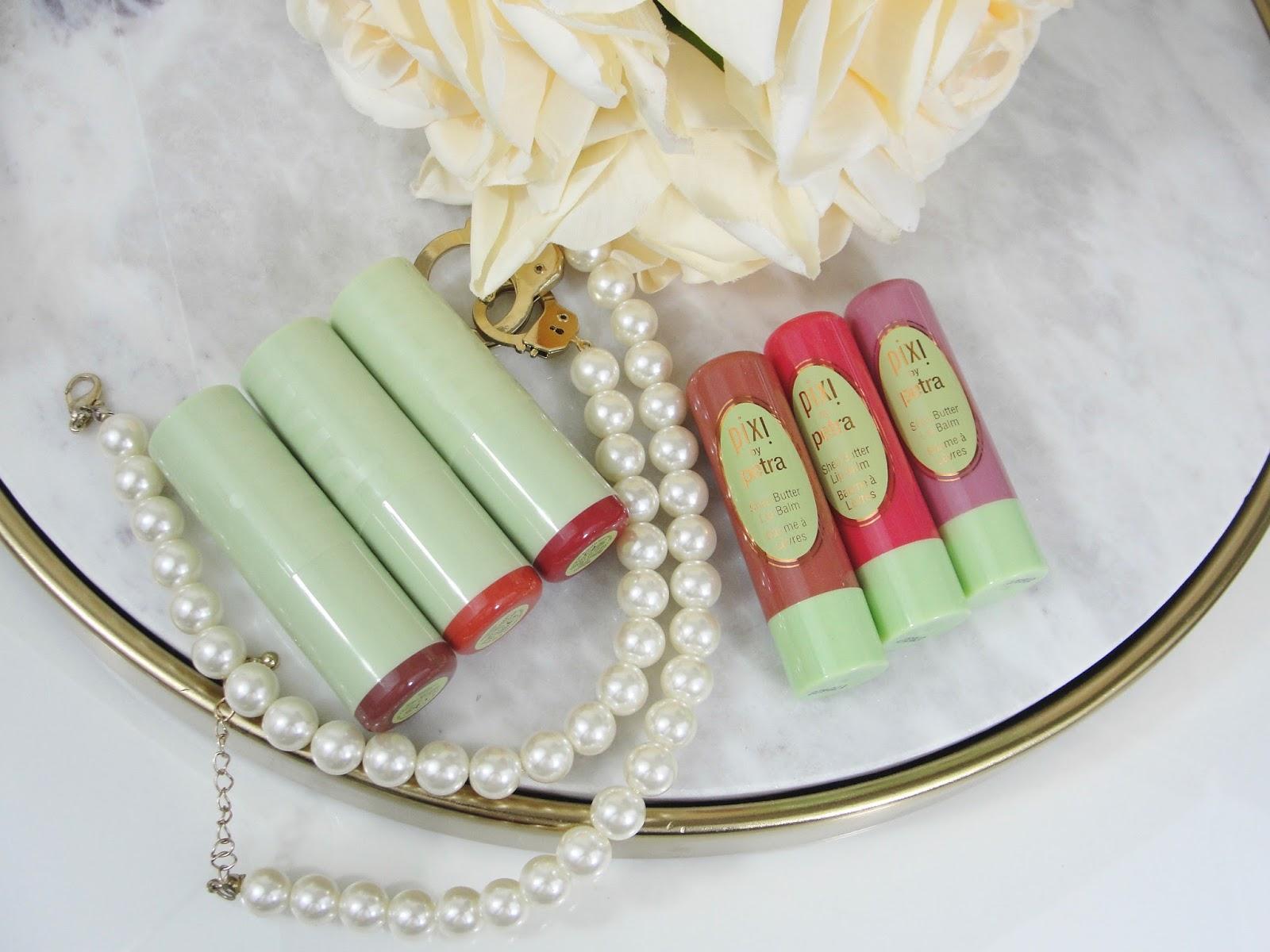 09e998e99ac Pixi Mattelustre Lipsticks   Shea Butter Lip Balm Review   Swatches