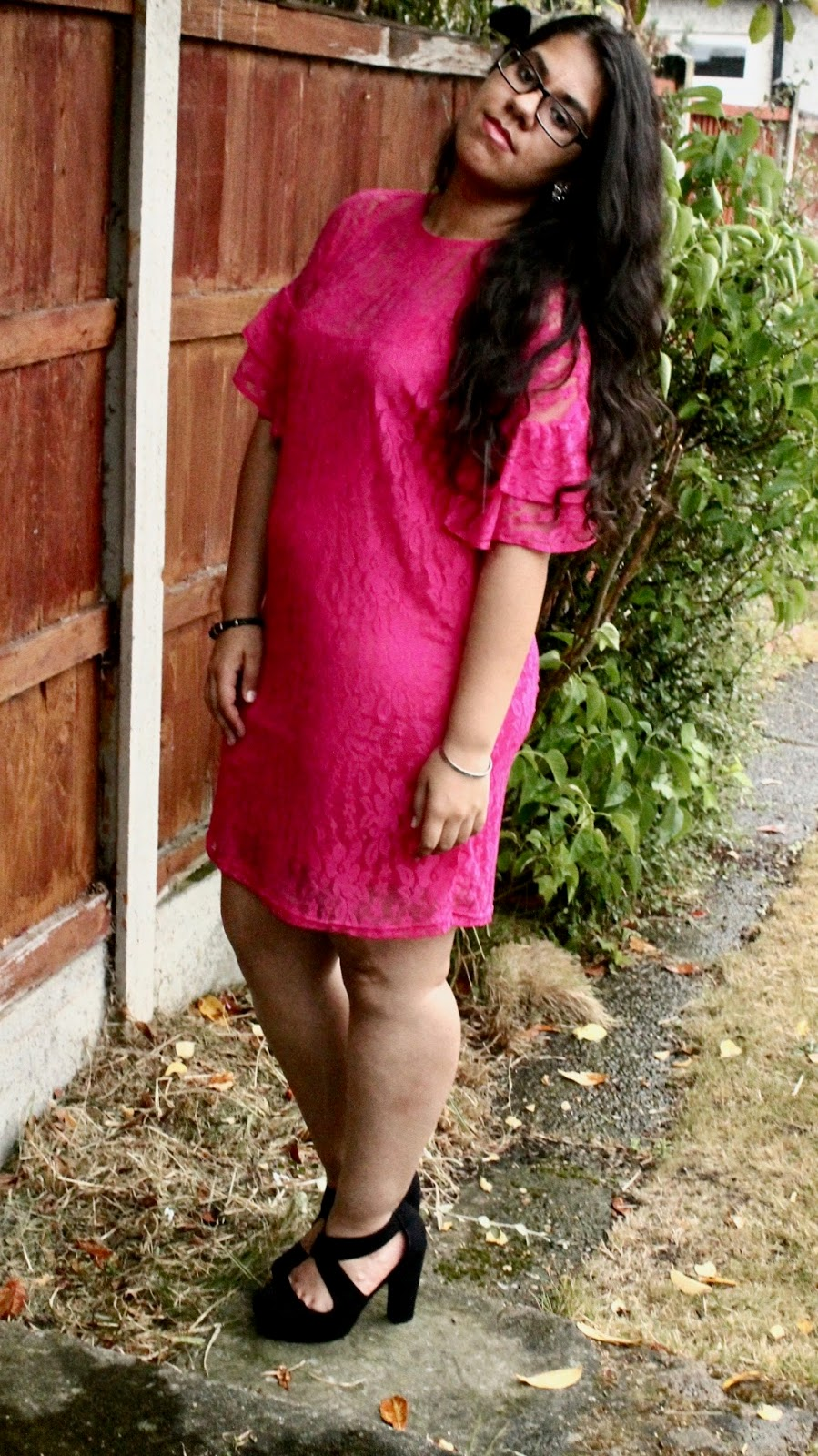Casual Chic Styled Pink Slip Dress