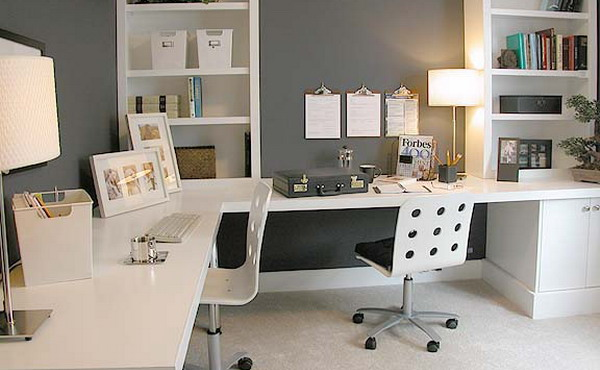 35 Desain Ruang Kerja Minimalis Di Rumah Kantor