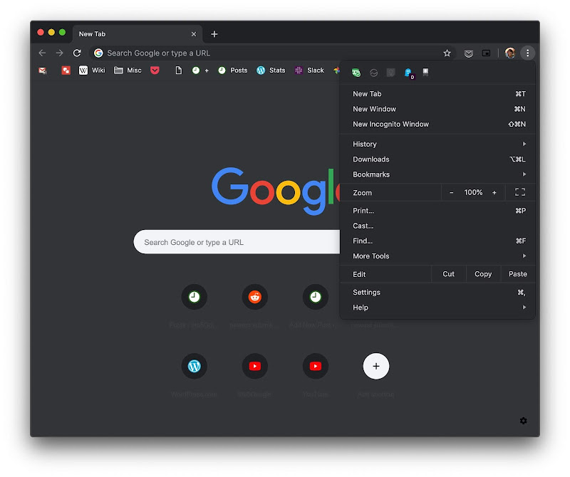 Google Chrome's 73 Update Brings Dark Mode To Mac Devices