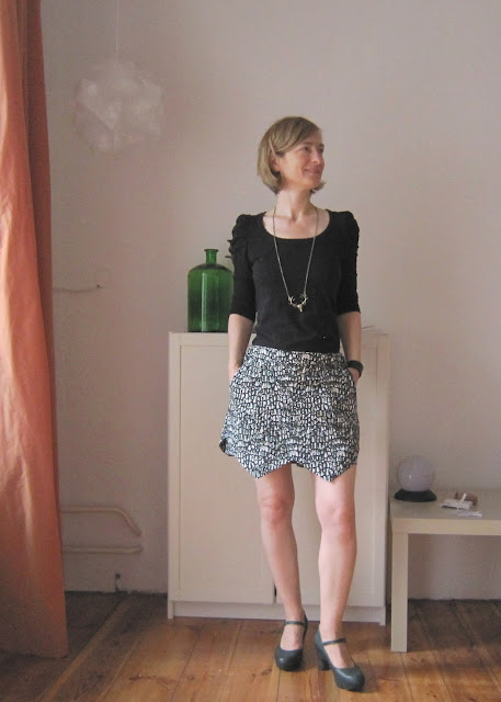 #12 Letters of handmade Fashion - S wie Skort