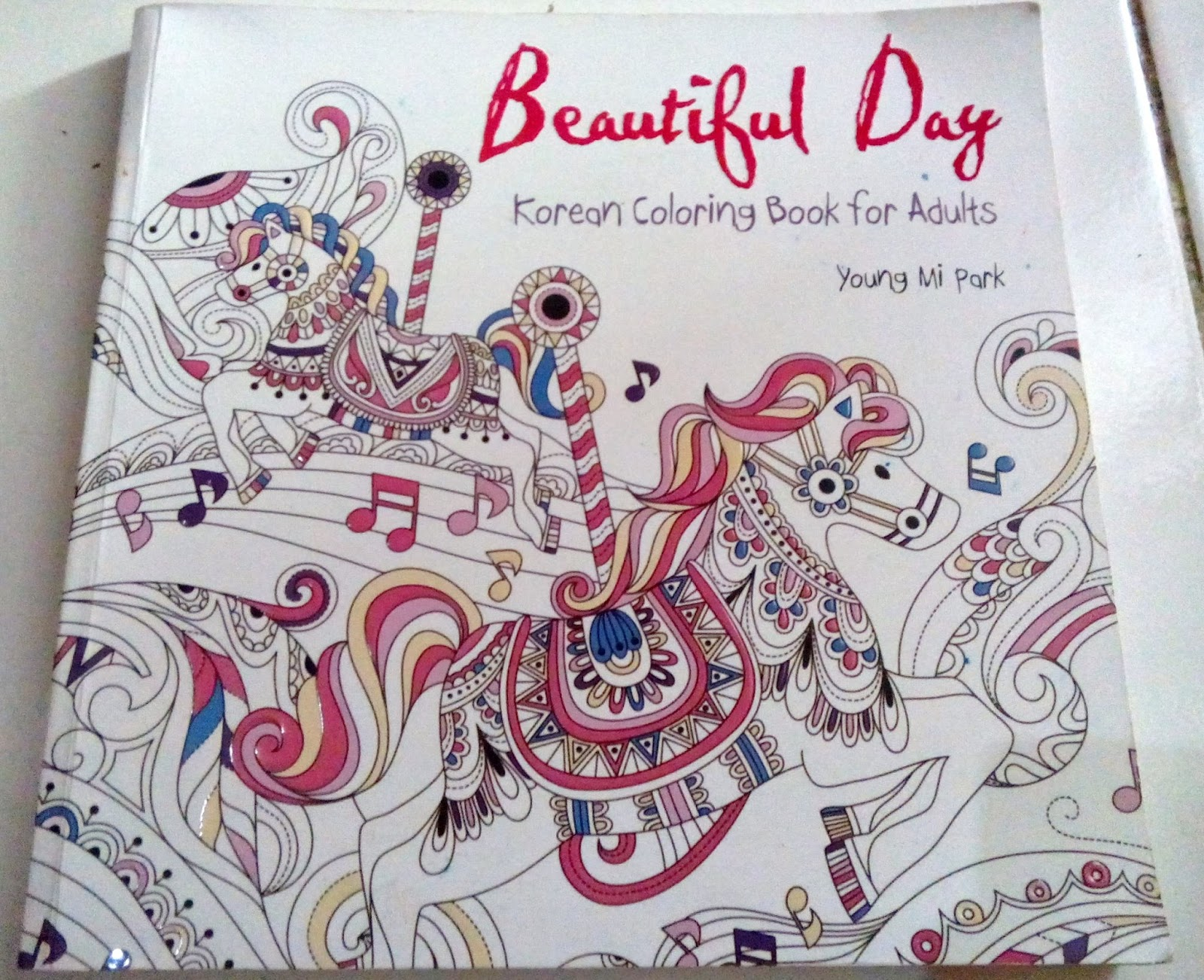 Review Coloring Book For Adult Beautiful Day By Park Young Mi