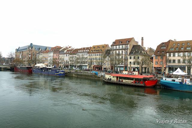 Río Ill, Estrasburgo