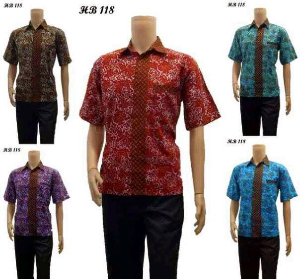 Rok Batik Dan Kemeja: Model Terbaru Baju Kemeja Batik Pria