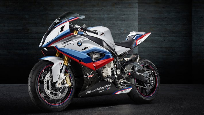 Wallpaper: BMW S1000RR MotoGP Safety Bike