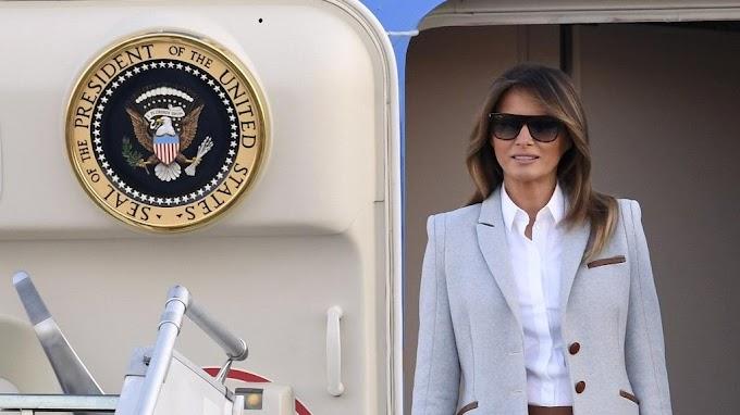 Melania Trump arrives in Ghana today