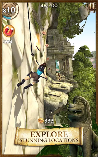 Lara Croft: Relic Run Apk Download Hack+Mod+Data