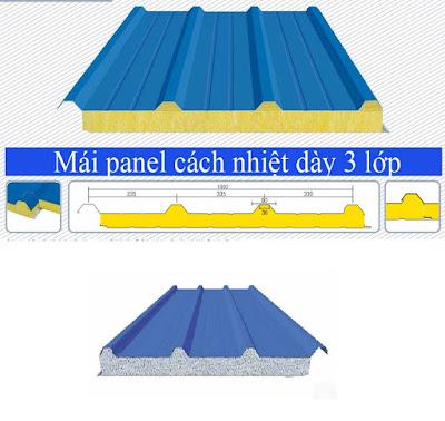 mái tôn panel eps
