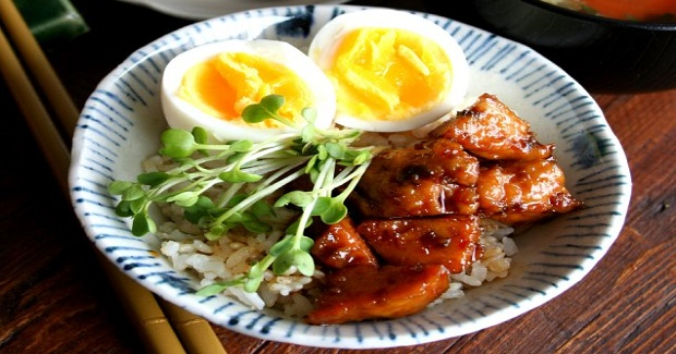 Teriyaki Chicken Rice Bowl Recipe