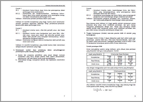 Panduan Penetapan KKM (Kriteria Ketuntasan Minimal) Pengertian, Fungsi, Mekanisme dan Analisis KKM