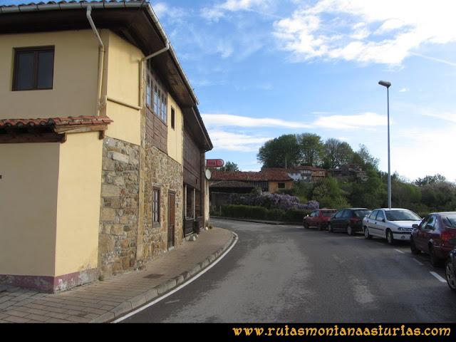 Ruta Torazo, Pico Incos: Carretera a Incós