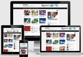 CB Gallery - Template Blog Foto & Toko Online Responsive Gratis!