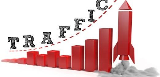 cari uang semakin mudah di internet jika trafik blog anda besar