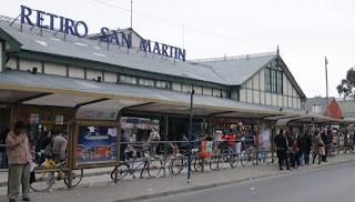 Estación del Tren San Martín en Retiro
