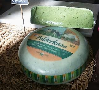 queso verde con pesto