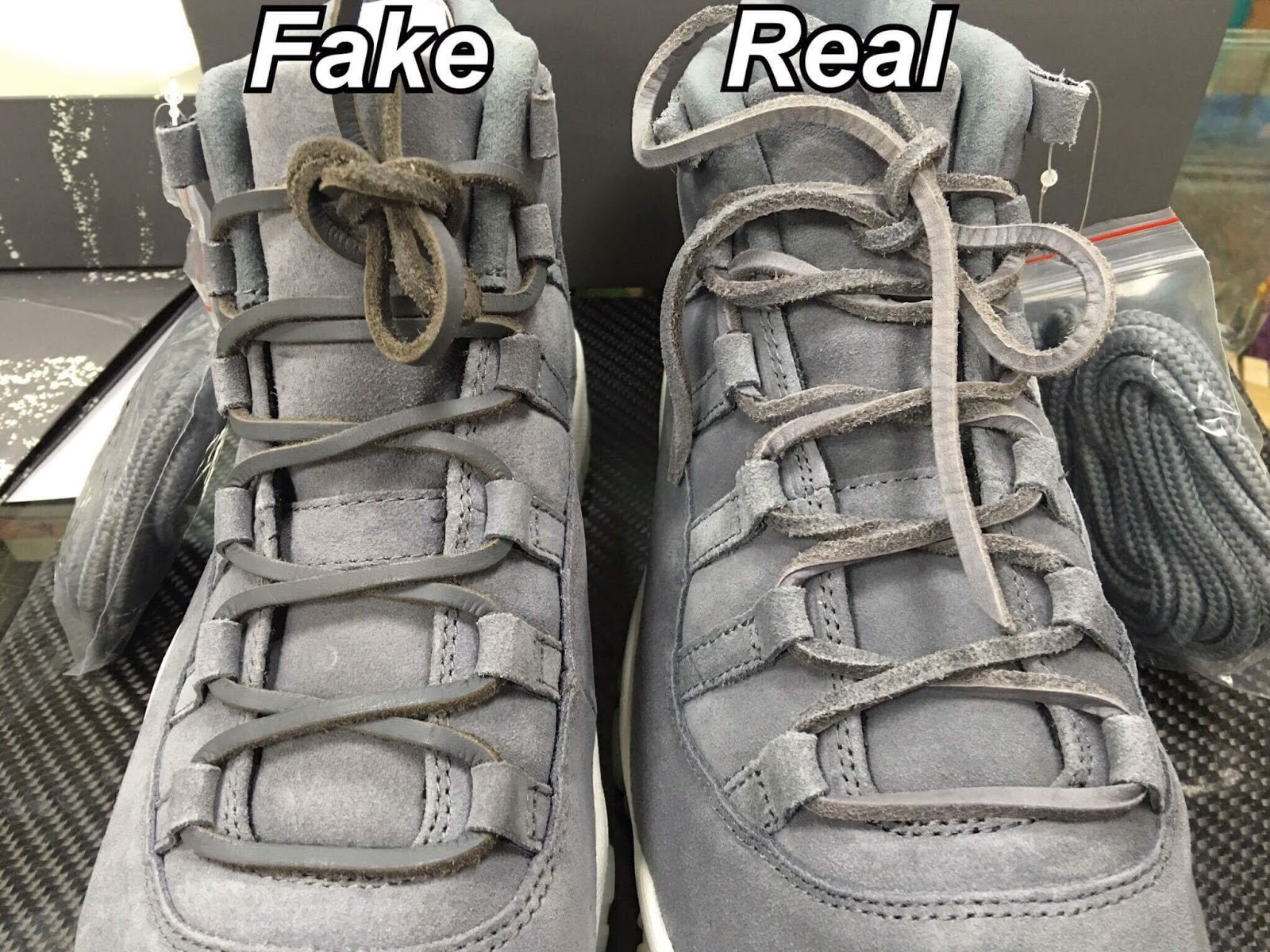 73486e39612a58 Sean s Blog  Real vs Fake AIR JORDAN 11 RETRO PREM