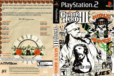 Guitar Hero III Guns n' Roses (PS2)