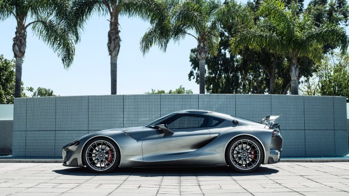 Wallpaper 3: Toyota FT-1 Sports Car Concept