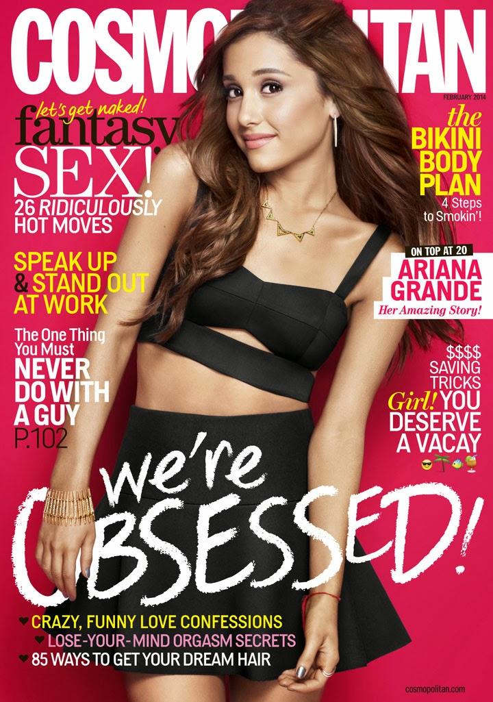 Sophie's fashion blog: Ariana Grande, Cosmopolitan ...