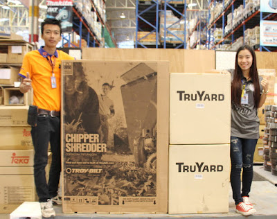 Isaan Thailand Troy Bilt Garden Chipper Delivery