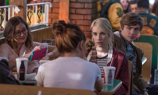 "Kimiko Glenn, Emma Roberts, and Miles Heizer in ""Nerve"""