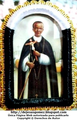 Foto al recuerdo de San Martín de Porres de Jesus Gómez