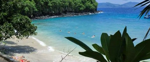 The Blue Lagoon Beach is on the eastward side of Bali together with it took us nigh  BeachesinBali: bluish lagoon beach