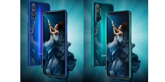 Honor 20 & Honor 20 Pro | with 48MP quad camera & Kirin 980
