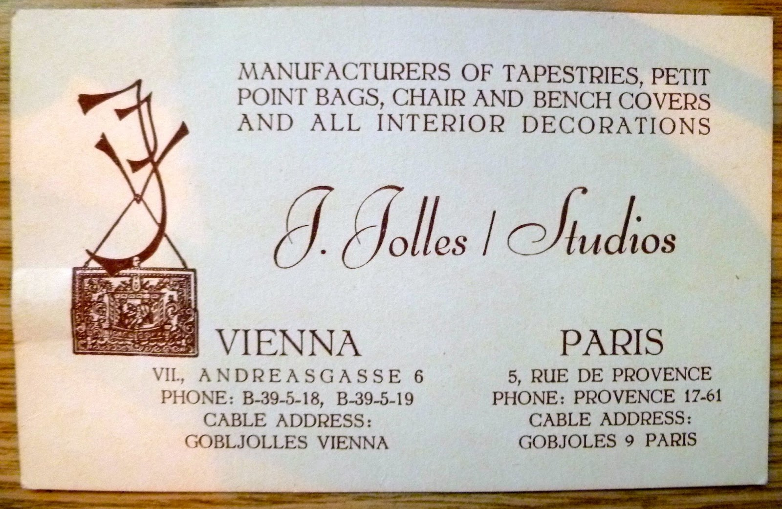 Vintage Purse Museum Manufacturer Index : Ida Jolles